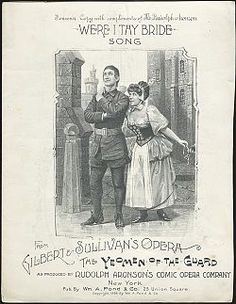 Souvenir illustration from the New York Casino Theatre production, 1888