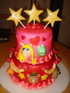 The muppets cake