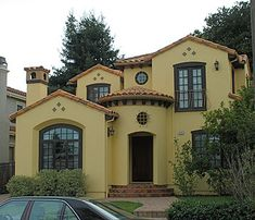 I love Spanish Title and Stucco Brick homes!!