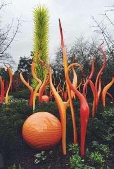 chihuly glass garden and museum // seattle