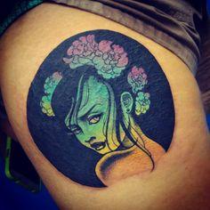 fuck, gorgeous. Onnie O'Leary - Stone Heart Tattoo - Sydney, Australia.