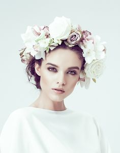 Ideas For Flowers Photography Woman Floral Headpiece Photography Women, Beauty Photography, Portrait Photography, Fashion Photography, Photography Flowers, Photography Ideas, Wedding Photography, Portrait Inspiration, Photoshoot Inspiration