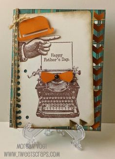 TweetScraps: April Stamp of the Month: Typed Note Rose Blossom Blog Hop