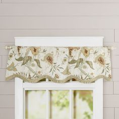 Found it at Joss & Main - Vanessa Floral Print Rod Pocket Curtain Valance
