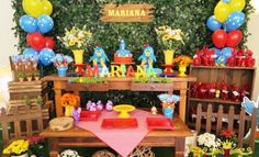 Ideas para cumpleaños temática Gallina Pintadita