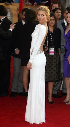 Love those backless dresses