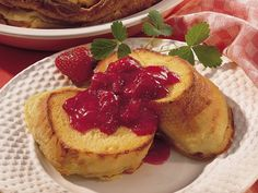 Baked french toast, French toast and Toast on Pinterest