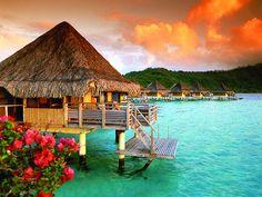 Pretty little vacation spot
