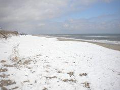 Carolina Beach and snow!