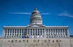 The Utah Capitol is one of the most beautiful state capitol buildings in America. Modeled after the US Capitol, construction was completed 100 years ago this July. Local granite stone and copper can be seen on the exterior, with breathtaking Georgia marble found in the rotunda inside. Join us on the Trolley Tour of Salt Lake City, the deluxe Salt Lake City Tour, or the Mormon Tabernacle Choir & City Tour for spectacular photo opportunities of this striking century-old edifice!