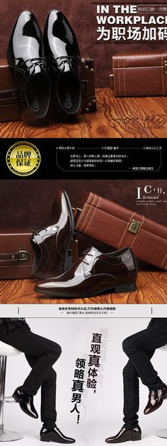 Best height increasing wedding shoes for groom . shoe can make taller 7cm