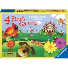 Ravensburger 4 First Games