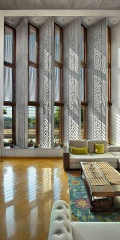 29 New Ideas For Home Modern Interior Open Concept Home Room Design, Home Interior Design, Interior And Exterior, Interior Decorating, Interior Designing, Living Room Art, Living Room Designs, Architecture Design, Facade Design