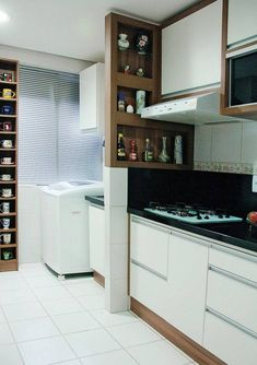 Cozinha é reformada sem quebra-quebra, Cozinha é reformada sem quebra-quebra Kitchen Furniture, Kitchen Interior, Kitchen Models, Scandinavian Kitchen, Little Kitchen, Apartment Kitchen, Rustic Kitchen, Home Kitchens, Decoration
