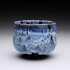 Chawan with tenmoku and chun glazes https://www.etsy.com/shop/rmoralespottery