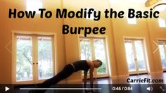 How to modify the basic burpee in 2 ways #diastasisrecti Healing Diastasis Recti, Diastasis Recti Exercises, Postpartum Belly, Burpees, Workout Videos, At Home Workouts, Instant Pot, Health Fitness