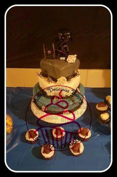 Cake motivo de Star Wars