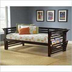 Hillsdale Miko Wood Daybed in Espresso Finish