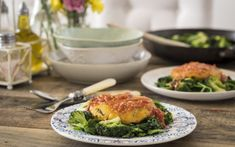 Never serve salads to friends sceptical about healthy eating, writes   Deliciously Ella, but focus instead on hearty, flavoursome meals such as   spiced potato cakes on a bed of sautéed greens with a garlic tomato sauce