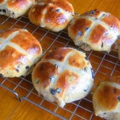 Easter Buttermilk Hot Cross Buns