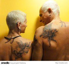Dövme Yaptırmak İsteyen Çiftlere Dev Galeri: İşte Sizi Direk Dövmeciye Götürecek Birbirinden Uyumlu 46 Dövme