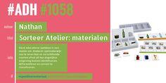 #ADH #1058 je Aanbevolen Dagelijkse Hoeveelheid #speelleermaterialen  Sorteer Atelier: materialen  ► Bar Chart, Film, Atelier, Movie, Film Stock, Bar Graphs, Cinema, Films