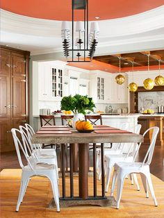 I love the combination of unexpected finishes!