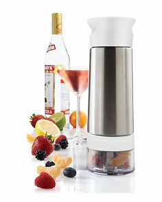 """Some of you have to get in on this: """"Vodka Zinger"""" Natural Flavor Infuser"""