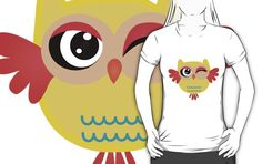 Cute miss owl T-Shirts & Hoodies by mrhighsky on redbubble