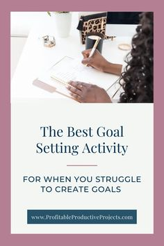 The best goal setting activity for when you struggle to create goals for your business - Profitable Productive Projects Goal Setting Activities, Goal Tracking, Business Woman Successful, How To Get Clients, Interesting Blogs, Thing 1, Time Management Tips, Wonder Women, Career Advice