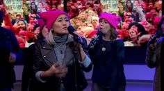 """MILCK Performs """"Quiet"""" with GW Sirens and Capital Blend   Singer MILCK and vocal groups GW Sirens and Capital Blend, who went viral with their performance at the Women's March, joined us for a special performance of their anthem """"Quiet."""""""