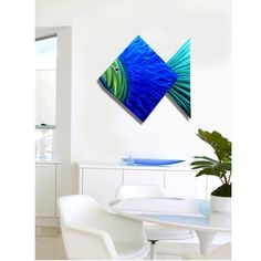 Big Blue Fish by Jon Allen is a nautical metal wall sculpture that is the perfect beach decor for your home. It's an modern metal fish accent that you can display as indoor-outdoor wall art. Metal Wall Sculpture, Wall Sculptures, Metal Wall Art, Outdoor Wall Art, Outdoor Walls, Beautiful Modern Homes, Metal Fish, Bahama Mama, Beach Wall Art