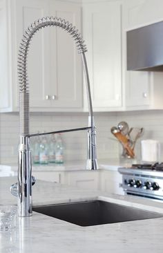 """This is the Grohe K7 Single-lever Sink Mixer 1/2"""" 32951000. It's a great look and statement for a contemporay or classic kitchen design."""