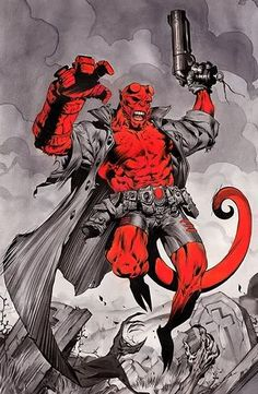 Hellboy...i love this.