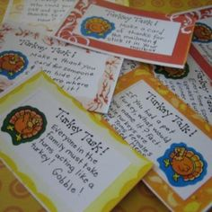 Thanksgiving Conversation Cards {Thanksgiving Printables}
