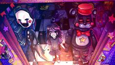 Naughty foxes by Jam-Graphics on DeviantArt Five Nights At Freddy's, Pedobear, Drawing Now, Freddy 's, Fnaf Characters, Fnaf Sister Location, Fnaf Drawings, Anime Fnaf, Missing Child