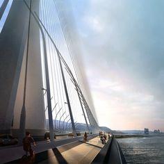Zaha Hadid Architects Danjiang Bridge