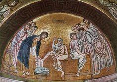 Hósios Lukás / Osios Loukás (Böotien, Griechenland), Kloster  AKG611756.jpg (489×344)