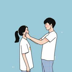 Hipster Drawings, Cute Couple Drawings, Cute Couple Cartoon, Cute Couple Art, Easy Drawings, Pencil Drawings, Cute Couple Wallpaper, Cute Anime Wallpaper, Cute Cartoon Wallpapers