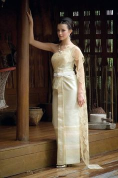 Thai style wedding on pinterest thai wedding dress for Thai style wedding dress