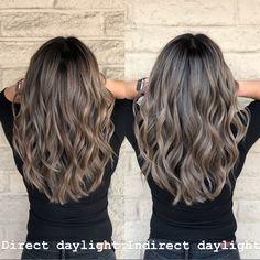 Beige Blonde Balayage, Blonde Hair With Highlights, Brown Blonde Hair, Hair Color Balayage, Brunette Hair, Long Hair Shaved Sides, Runway Hair, Crazy Hair Days, Hair Color Dark