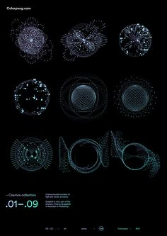 Colorpong.com – Cosmos vector bundle feature 18 vector files full of cosmos, planets, spaces and vortex portals explorations.