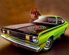 1971 Plymouth Duster 340- via MCMrevival, Facebook.