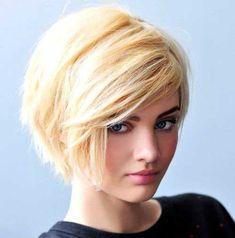 Cute Blonde Pixie Bob Style