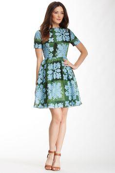 Cynthia Rowley Hawaiian Quilt Linen Silk Blend Dress by Cynthia Rowley on @nordstrom_rack