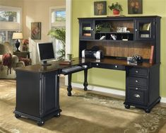 Lshaped desk from Furniture From The Barn See more at