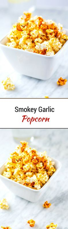 Smokey Garlic Popcorn & My Game Changer with Weight Loss