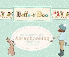 ¡No te pierdas todas las novedades de la nueva #colección de #scrapbooking #BelleandBoo