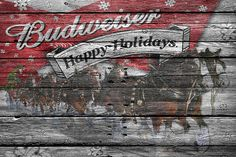 Budweiser Print By Joe Hamilton