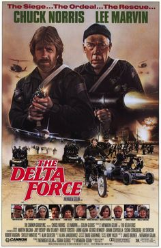 Directed by Menahem Golan. With Chuck Norris, Lee Marvin, Martin Balsam, Joey Bishop. After a plane is hijacked by terrorists, The Delta Force is sent in to resolve the crisis. Streaming Movies, Hd Movies, Movies Online, Movie Tv, Watch Movies, Action Movie Poster, Action Movies, Movie Posters, Delta Force